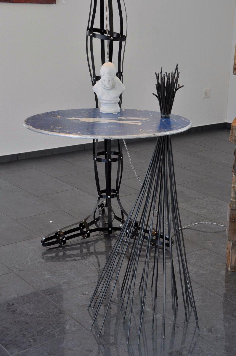 Tisch Modell Fussgängerzone